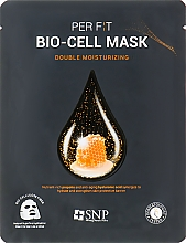 Düfte, Parfümerie und Kosmetik Bio-Cellulose-Maske mit Propolis-Extrakt - SNP Double Moisturizing Bio-Cell Mask