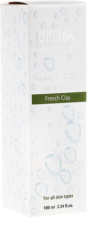 Straffende und reinigende Gesichtsmaske mit französischer Tonerde - Dr. Sea Firming and Purifying Facial Mask — Bild N2
