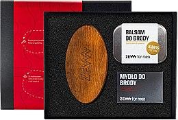Düfte, Parfümerie und Kosmetik Männerset - Zew For Men (Balsam 80 ml+Seife 85ml+Haarbürste)