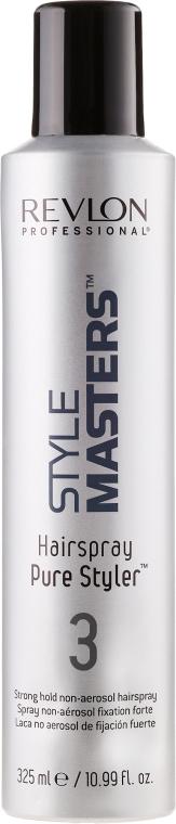 Haarspray ohne Treibgas Starker Halt - Revlon Professional Style Masters Hairspray Pure Styler 3