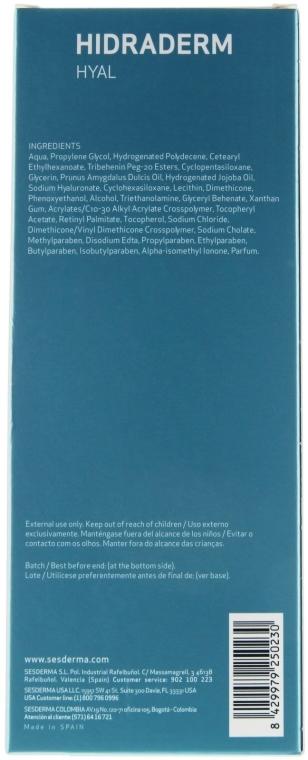Schützende und feuchtigkeitsspendende Körperlotion - SesDerma Laboratories Hidraderm Body Milk — Bild N3