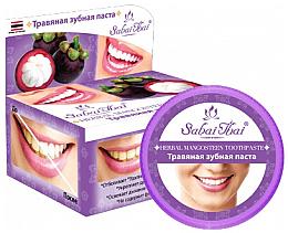Düfte, Parfümerie und Kosmetik Zahnpasta mit Mangostan-Extrakt - Sabai Thai Herbal Mangosteen Toothpaste