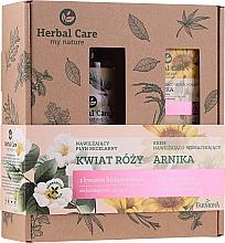 Düfte, Parfümerie und Kosmetik Gesichtspflegeset - Farmona Herbal Care Arnica & Rose Flower (Gesichtscreme 50ml + Mizellenwasser 400ml)