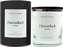Düfte, Parfümerie und Kosmetik Duftkerze im Glas Breathe Oxygen - Ambientair The Olphactory Black Design Breathe Oxygen