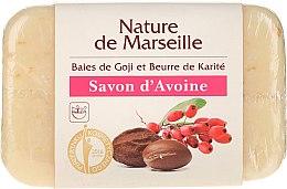 Düfte, Parfümerie und Kosmetik Haferseife mit Scheabutter- und Goji-Beere-Duft - Nature de Marseille Soap