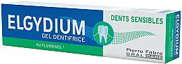 Düfte, Parfümerie und Kosmetik Zahnpasta-Gel für empfindliche Zähne - Elgydium Sensitive Teeth Toothpaste Gel