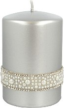 Düfte, Parfümerie und Kosmetik Dekorative Kerze Crystal Opal - Artman Christmas Candle Crystal Opal Ø7xH10cm