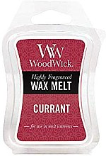 Düfte, Parfümerie und Kosmetik Tart-Duftwachs Currant - WoodWick Mini Wax Melt Currant Smart Wax System