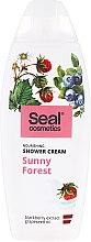 Düfte, Parfümerie und Kosmetik Pflegende Duschcreme mit Brombeerextrakt und Traubenkernöl - Seal Cosmetics Sunny Forest Shower Cream