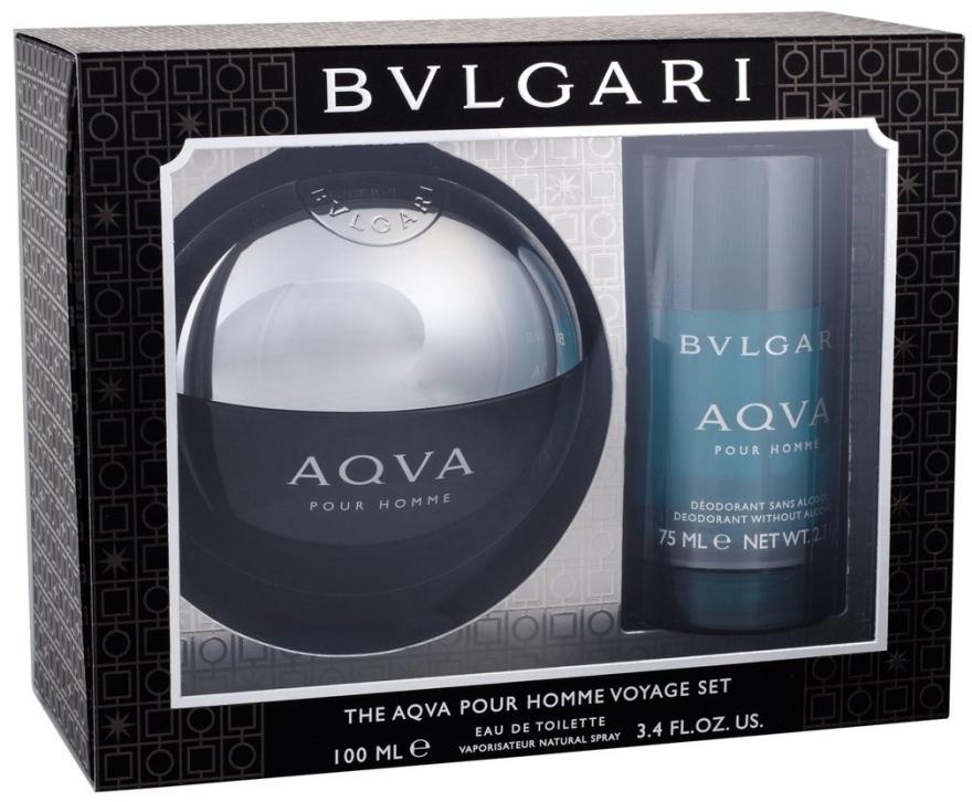 Bvlgari Aqva Pour Homme - Duftset (Eau de Toilette/100ml + Deodorant/75ml)