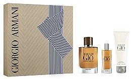Düfte, Parfümerie und Kosmetik Giorgio Armani Acqua di Gio Absolu Set - Duftset (Eau de Parfum 75ml + Eau de Parfum 15ml + Duschgel 75ml)