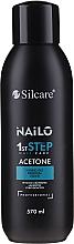 Düfte, Parfümerie und Kosmetik Flüssigkeit zum Entfernen von Gelnägel - Silcare Nailo Aceton