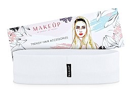 Düfte, Parfümerie und Kosmetik Haarband Be Beauty weiß - MakeUp