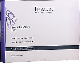 Düfte, Parfümerie und Kosmetik Gesichtspflegeset - Thalgo Marine Silicium Programme (Gesichtsserum 6x3ml + Hyaluron-Concealer-Creme 6x2ml + Gesichtsmaske 6x100g + Gesichtsmaske 6 St. + Gesichtsserum 6x10ml)