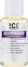 Düfte, Parfümerie und Kosmetik Mundwasser mit Schwarzkümmel - Eco Cosmetics Mouthwash
