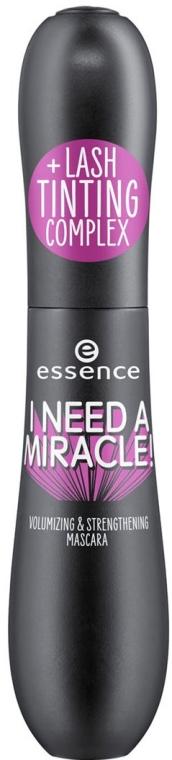 Stärkende Mascara für voluminöse Wimpern - Essence I Need A Miracle! Volumizing & Strengthening Mascara