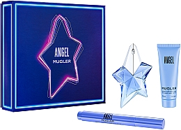 Düfte, Parfümerie und Kosmetik Mugler Angel - Duftset (Eau de Parfum 25ml + Eau de Parfum 10ml + Körperlotion 50ml)