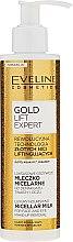 Düfte, Parfümerie und Kosmetik Luxuriöse und nährende Mizellenlotion zum Abschminken - Eveline Cosmetics Gold Lift Expert