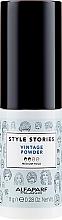 Düfte, Parfümerie und Kosmetik Strukturgebendes Haarpuder für mehr Volumen Mittlerer Halt - Alfaparf Style Stories Vintage Powder Medium Hold
