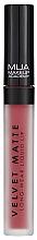 Düfte, Parfümerie und Kosmetik Langanhaltender matter, flüssiger Lippenstift - MUA Academy Velvet Matte Long-Wear Liquid Lip