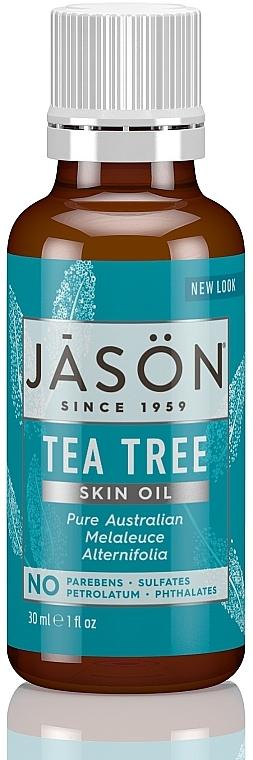 Teebaumöl - Jason Natural Cosmetics Organic Oil Purifying Tea Tree — Bild N1