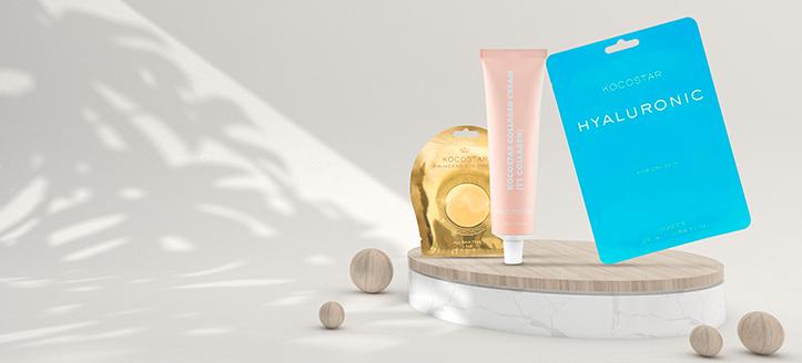 Sie erhalten eine Gesichtsmaske geschenkt beim Kauf von Kocostar Produkten ab 12 €