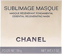 Düfte, Parfümerie und Kosmetik Regenerierende beruhigende und verjüngende Gesichts- und Halsmaske - Chanel Sublimage Masque