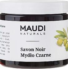Düfte, Parfümerie und Kosmetik Schwarze Seife mit Olivenöl - Maudi