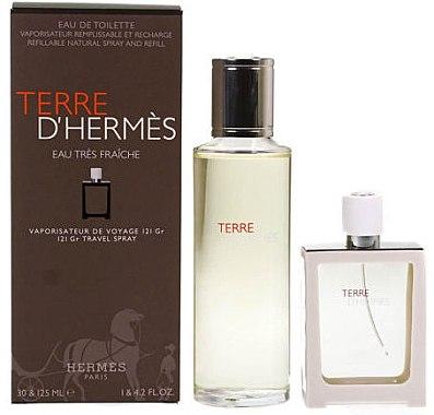 Hermes Terre d'Hermes Eau Tres Fraiche - Duftset (Eau de Toilette 125ml + Eau de Toilette 30ml)
