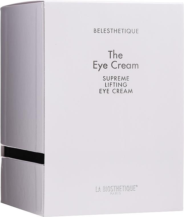 Augencreme mit Lifting-Effekt - La Biosthetique Belesthetique The Eye Cream