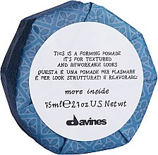 Düfte, Parfümerie und Kosmetik Strukturierende Haarpomade - Davines More Inside This is a Forming Pomade