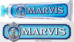 Düfte, Parfümerie und Kosmetik Zahnpasta mit Wasserminze und Xylitol - Marvis Aquatic Mint + Xylitol