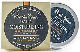 Düfte, Parfümerie und Kosmetik Feuchtigkeitsspendender Lippenbalsam mit Bergamottenöl für Männer - Bath House Bergamot & Orange Lip Salve