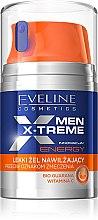 Düfte, Parfümerie und Kosmetik Leichtes Feuchtigkeitsgel gegen müde Haut - Eveline Cosmetics Men X-Treme Energy