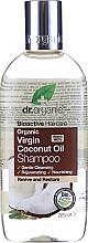 Düfte, Parfümerie und Kosmetik Verjüngendes Shampoo mit Kokosöl - Dr. Organic Bioactive Haircare Virgin Coconut Oil Shampoo