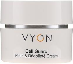 Düfte, Parfümerie und Kosmetik Ausgleichende Hals- und Dekolletécreme gegen Pigmentflecken - Vyon Cell Guard Neck and Dekollete Cream