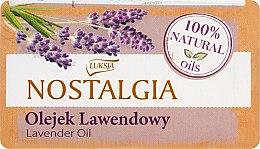 Düfte, Parfümerie und Kosmetik 100% Natürliche Seife mit Lavendelöl - Luksja Nostalgia Lavender Oil Soap