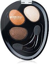 Düfte, Parfümerie und Kosmetik Lidschatten - Deborah Hi-Tech Eye Shadow Trio