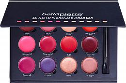 Düfte, Parfümerie und Kosmetik Lippenstift-Palette mit 12 Farben - Bellapierre 12 Color Pro Lip Palette