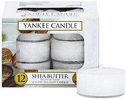 Düfte, Parfümerie und Kosmetik Teelichte - Yankee Candle Scented Tea Light Candles Shea Butter