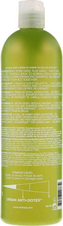Feuchtigkeitsspendendes Shampoo für normales bis leicht trockenes Haar - Tigi Bed Head Urban Antidotes Re-energize Shampoo — Bild N4