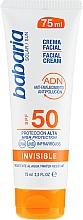 Düfte, Parfümerie und Kosmetik Sonnenschutzcreme für das Gesicht SPF 50 - Babaria Invisible Facial Sun Cream Spf 50