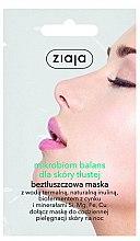 Düfte, Parfümerie und Kosmetik Gesichtsmaske für fettige Haut mit Thermalwasser - Ziaja Microbiom Cream Face Mask