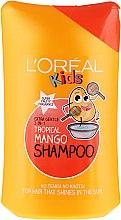 Düfte, Parfümerie und Kosmetik 2in1 Extra sanftes Kindershampoo mit tropischem Mangoduft für mehr Glanz - L'Oreal Paris Kids Tropical Mango Shampoo