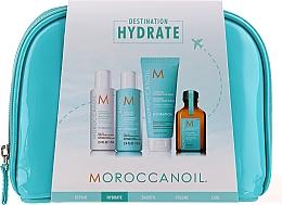 Düfte, Parfümerie und Kosmetik Haarpflegeset - Moroccanoil Hydrate (Shampoo 70ml + Conditioner 70ml + Haarmaske 75ml + Haaröl 25ml)