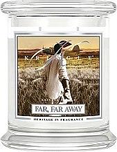 Düfte, Parfümerie und Kosmetik Duftkerze im Glas Far, Far Away - Kringle Candle Far Far Away