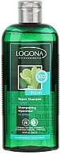 Düfte, Parfümerie und Kosmetik Regenerierendes Shampoo mit Ginkgo für trockenes und geschädigtes Haar - Logona Hair Care Repair Shampoo Gingko