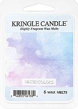 Düfte, Parfümerie und Kosmetik Tart-Duftwachs Watercolors - Kringle Candle Watercolors Mini Wax Melts