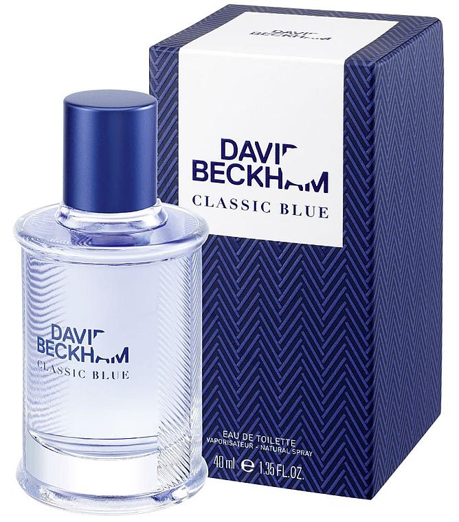 David Beckham Classic Blue - Eau de Toilette
