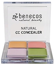 Düfte, Parfümerie und Kosmetik Concealer-Palette - Benecos Natural CC Concealer